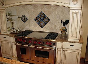 Kitchen Tile Backsplash Design Ideas on Kitchen Tile